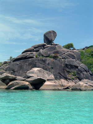 Donald Duck Bay, Similan.